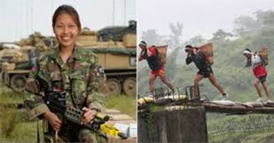 Parliamentary committee directs Nepal government to return and stop the recruitment of Women shoulders in Gurkha army