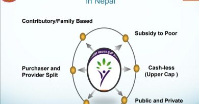 Health insurance policy for poor is not possible in Nepal with current government spending