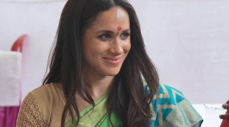 Meghan's Indian charity visit featured in new video footage