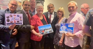 Everest Inn, Perth, promotes Visit Nepal 2020 in Scotland
