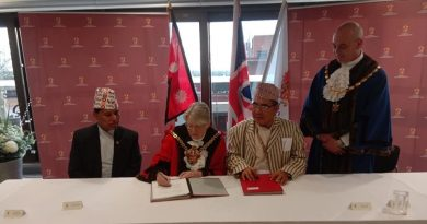 Wolverhampton Council of UK establishes friendship ties with Arjundhara Municipality of  Nepal