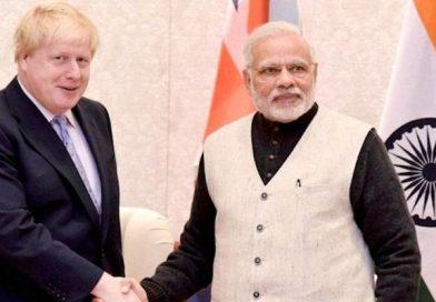 UK PM Johnson talks to Modi, regrets vandalism at Indian High Commission in London