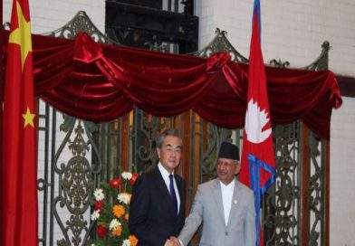 Chinese foreign minister Wang Yi In Nepal