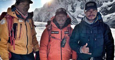 Nepali climber set for final push in record 14-peak bid