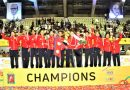 Nepal clinch historic title of Asian Senior Women Central Zone Volleyball Championship