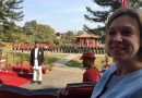 British ambassador, Nicola Pollitt, presents credentials to Nepal President