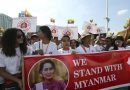 Hundreds Rally In Myanmar To Show Support For Suu Kyi