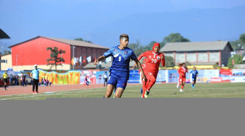 Nepal Enters Final Of SAG Women Football