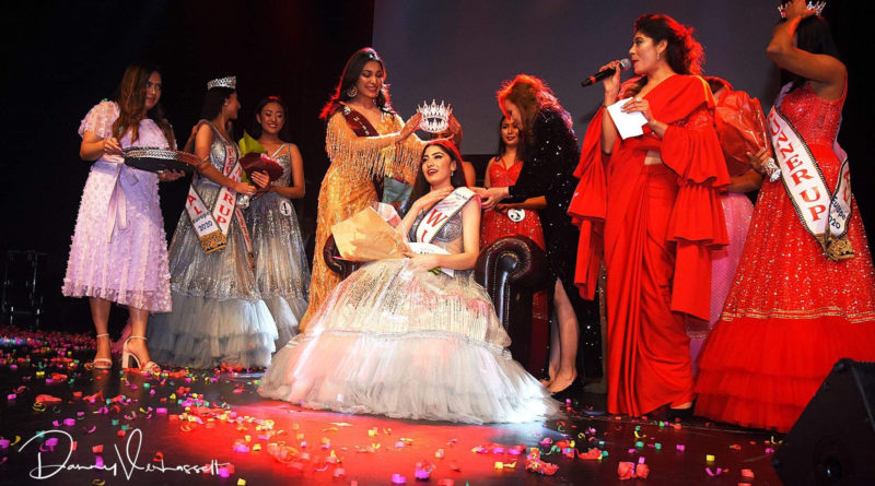 First election of 'Miss Nepal Europe 2020' in Belgium